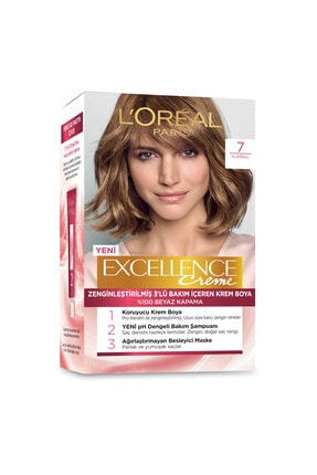 L'Oreal Paris Excellence Creme Saç Boyası 7 Kumral 1