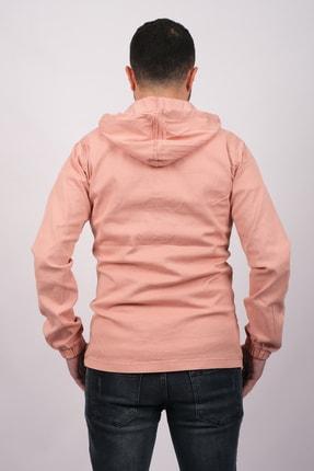 GAMBA Erkek Kapüşonlu Fermuarlı Sweatshirt 1