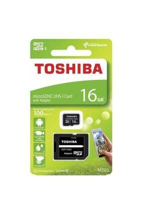 Toshiba Uhs-1 C10 16 Gb Micro Sdhc Hafıza Kartı 100mb/sn 1