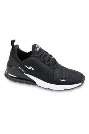 Jump Erkek Siyah Beyaz Anatomik Spor Ayakkabı 24883 0