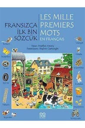 1001 Çiçek Kitaplar Fransızca Ilk Bin Sözcük 0