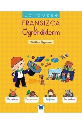 Mavi Kelebek Yayınları Larousse Fransızca Ilk Öğrendiklerim 0
