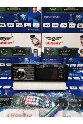 Pioneer Sunsay Mb-27 Dokunmatik Ekran Bluetootlu Telefon Şarj Edebilme 0