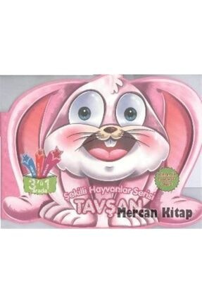 Parıltı Yayıncılık Tavşan / Şekilli Hayvanlar Serisi 0
