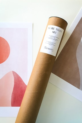 DUWART Premium Çerçevesiz Poster |fall Colors 6'lı Poster Set |21x30 Ve 30x40 Cm |iskandinav Poster 2