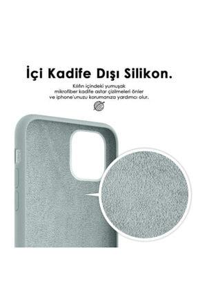 Zengin Çarşım Apple Iphone 7 Plus - 8 Plus Içi Kadife Lansman Silikon Kılıf Mavi 3