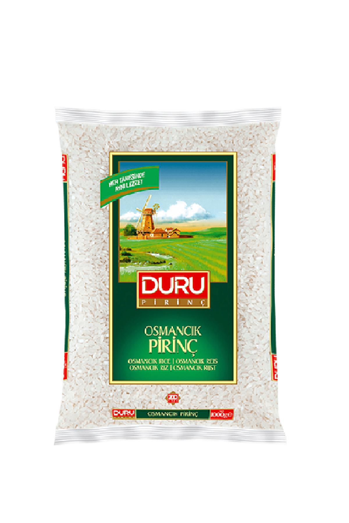 Duru Osmancık Pirinç 1 kg 0