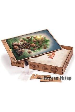 King Of Puzzle Kitap Ağacı Ahşap Puzzle 1000 Parça (kt11-m) 2
