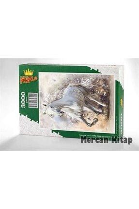 King Of Puzzle Kırat Illüstrasyon Ahşap Puzzle 3000 Parça (hv82-mmm) 0