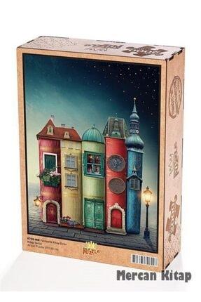 King Of Puzzle Fantastik Kitap Evler Ahşap Puzzle 2000 Parça (kt50-mm) 0