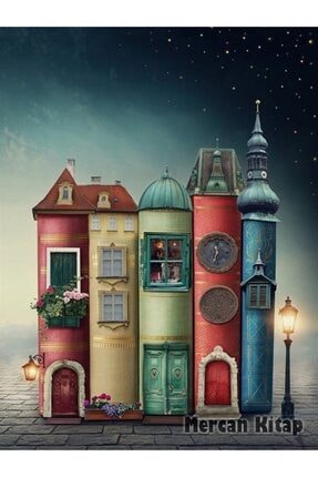 King Of Puzzle Fantastik Kitap Evler Ahşap Puzzle 2000 Parça (kt50-mm) 1