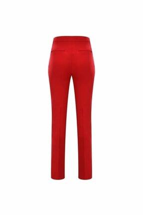 adL Kadın Kirmizi Boru Paça Pantolon 2