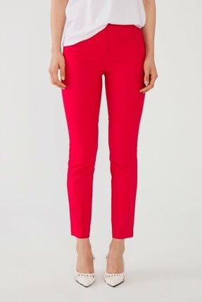 adL Kadın Kirmizi Boru Paça Pantolon 3