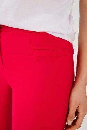 adL Kadın Kirmizi Boru Paça Pantolon 4