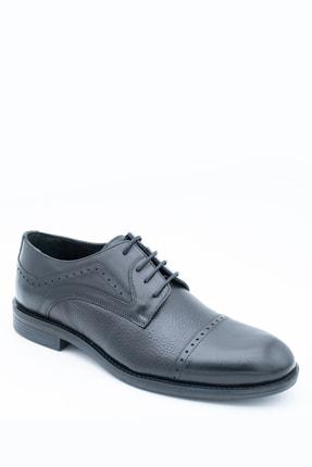 İgs Erkek Siyah Klasik Ayakkabı 197057-2 2