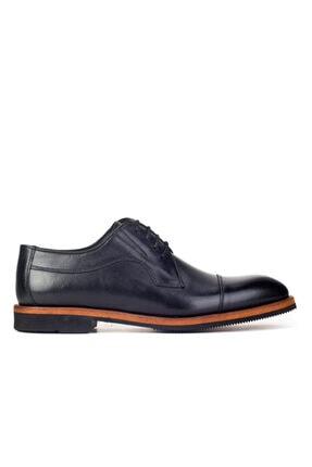 Cabani Erkek Siyah Klasik Antik Deri Ayakkabı 1