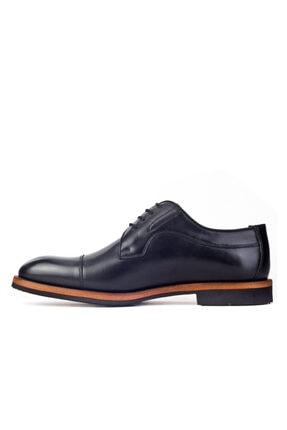 Cabani Erkek Siyah Klasik Antik Deri Ayakkabı 2