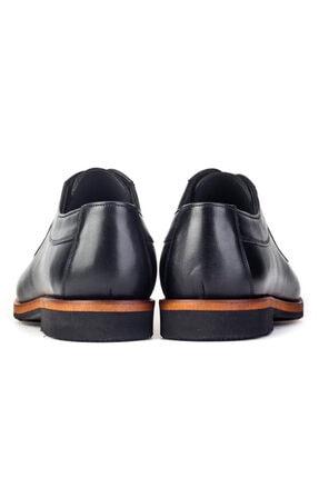 Cabani Erkek Siyah Klasik Antik Deri Ayakkabı 3