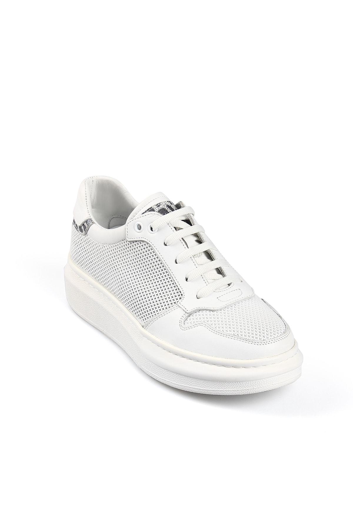 Fisa Kadın Beyaz Günlük Spor Ayakkabı