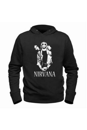 Alfa Tshirt Nirvana Siyah Çocuk Sweatshirt 0