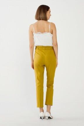 adL Kadın Lime Çift Kuşaklı Pantolon 3