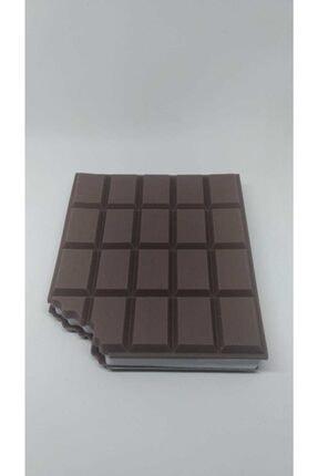 elifin bebek evi Çikolata Görünümlü Not Defteri 4