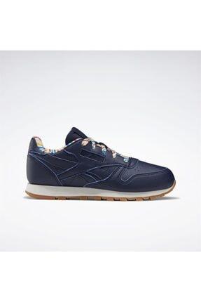 Reebok Çocuk Lacivert Classics Leather Günlük Spor Ayakkabı 0