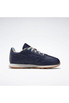 Reebok Çocuk Lacivert Classics Leather Günlük Spor Ayakkabı 1