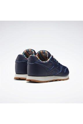 Reebok Çocuk Lacivert Classics Leather Günlük Spor Ayakkabı 3