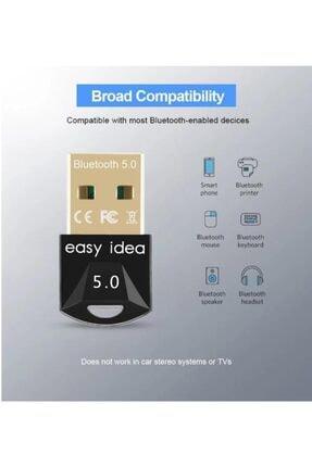 Alfa Kablosuz Usb Bluetooth 5.0 Adaptör Bilgisayar Bluetooth Dongle Alıcı Verici 1