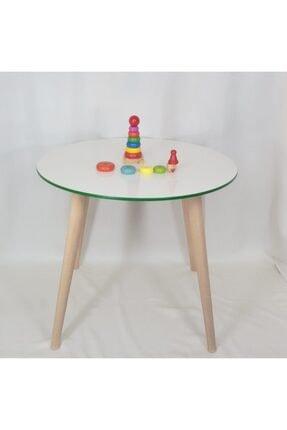 All dizayn Çocuk Masa Ve Sandalye Takımı, 1 Yuvarlak Masa - 2 Yıldız Sandalye 1