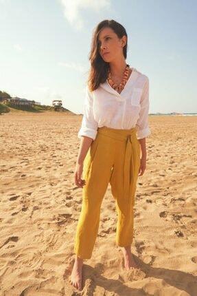 adL Kadın Lime Yüksek Bel Pantolon 0