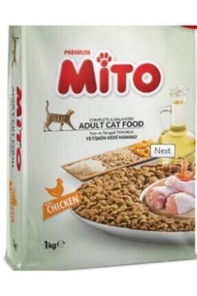 Mito Tavuklu Yetişkin Kedi Maması 1kg 0