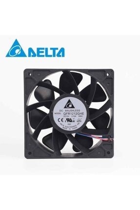 Delta 12cm 12v 2.7a Qfr1212ghe 12038 Şiddetli Fan 6000rpm Soğutma 0