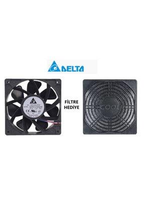 Delta 12cm 12v 2.7a Qfr1212ghe 12038 Şiddetli Fan 6000rpm Soğutma 2