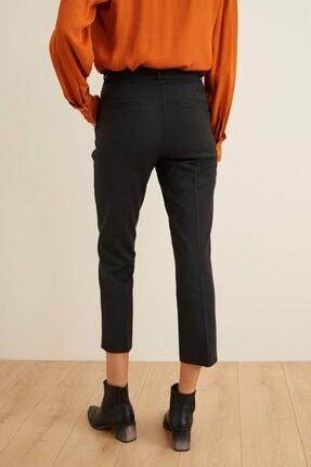 adL Kadın Siyah Düşük Bel Cepli Pantolon 4