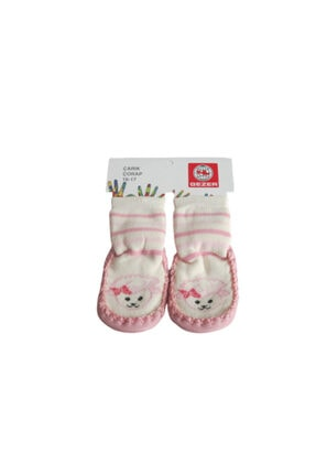 Picture of 01315 Kız Bebek Çarık Çorap