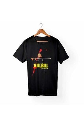 Unisex Siyah Kill Bill Tişört B1367
