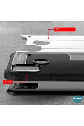 Microsonic Microsonic Galaxy M21 Kılıf Rugged Armor Kırmızı 2