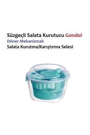 Gondol Salata Kurutucu Süzgeçli Salata Kurutma Selesi Salad Spinner 2