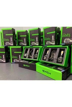 Mach Bam-5 Şimşek Etkili Profesyonel Led Xenon (6400lm) H1 1