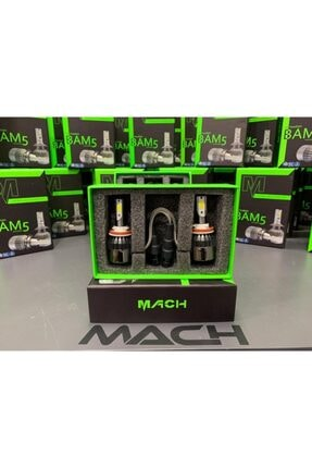 Mach Bam-5 Şimşek Etkili Profesyonel Led Xenon (6400lm) H1 2