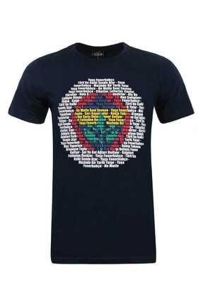 Fenerium Erkek Tribün Renkli Logo T-shırt-a-407-0-xs Tk010e9s05 0