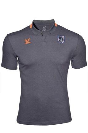 İstanbul BFK Store Erkek Antrasit Polo Yaka T-shirt 0