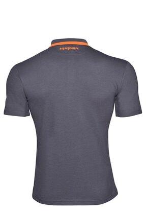 İstanbul BFK Store Erkek Antrasit Polo Yaka T-shirt 1
