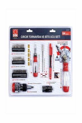 DBK Cırcır Tornavida Bits Ucu Seti - 64 Parça 522164 0