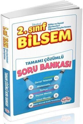 Editör Yayınları 2. Sınıf Bilsem Çözümlü Soru Bankası 0