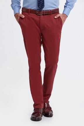 Hemington Erkek Bordo Pamuk  Chino Pantolon 0