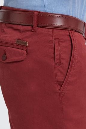 Hemington Erkek Bordo Pamuk  Chino Pantolon 4