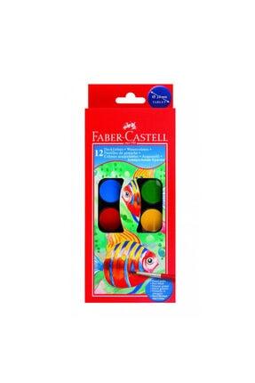 Faber Castell Sulu Boya 12 Renk 0